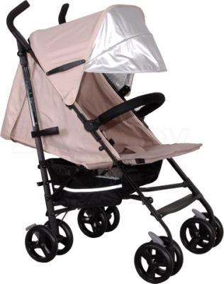 Детская прогулочная коляска Coletto Camino (Light Beige) - с дополнительным козырьком