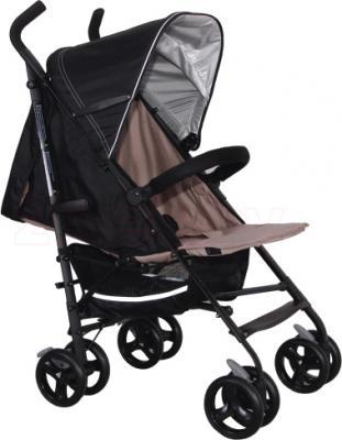 Детская прогулочная коляска Coletto Camino (Black) - общий вид