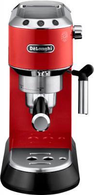 Кофеварка эспрессо DeLonghi Dedica EC 680.R - вид спереди