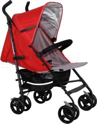 Детская прогулочная коляска Coletto Camino (Red) - общий вид