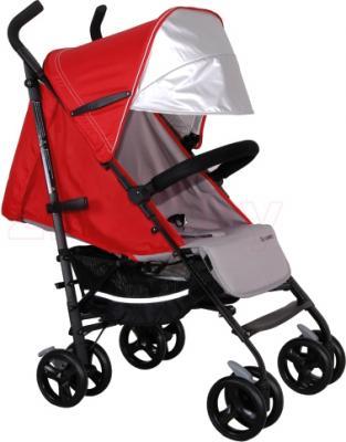 Детская прогулочная коляска Coletto Camino (Red) - с дополнительным козырьком