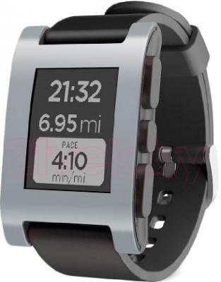 Интеллектуальные часы Pebble Technology Gray - общий вид