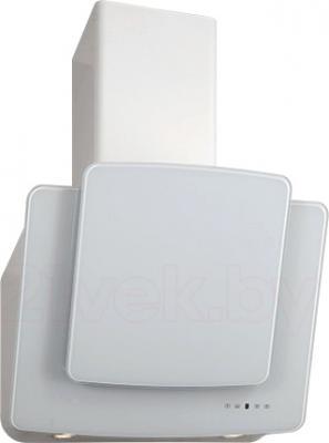 Вытяжка декоративная Elikor Кварц 60П-1000-Е4Г (белый) - общий вид
