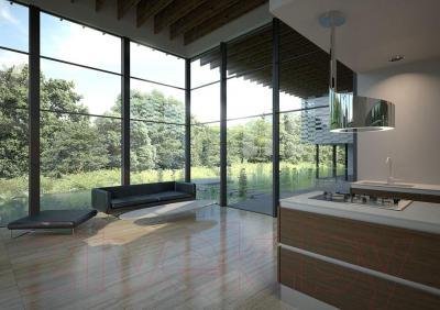 Вытяжка декоративная Best Vertigo 50 (нержавеющая сталь) - в интерьере