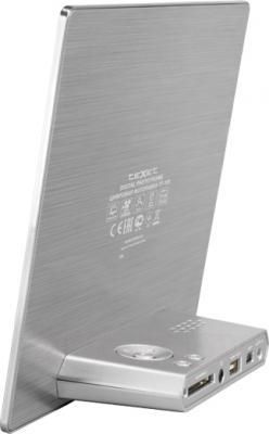 Цифровая фоторамка TeXet TF-115 (Silver) - вид сзади