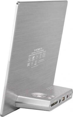 Цифровая фоторамка TeXet TF-815 (Silver) - вид сзади