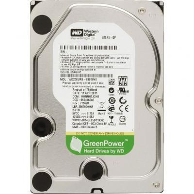 Жесткий диск Western Digital AV-GP 2TB (WD20EURX)