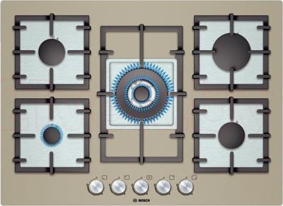 Газовая варочная панель Bosch PPQ718B91E - общий вид
