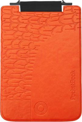 Обложка для электронной книги PocketBook Cover 515 (Black-Orange) - общий вид
