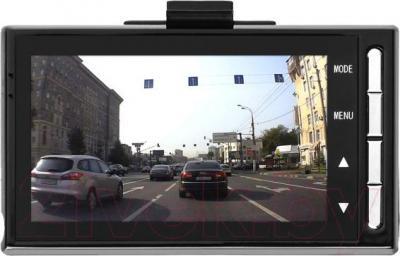 Автомобильный видеорегистратор Treelogic TL-DVR 2701 - экран