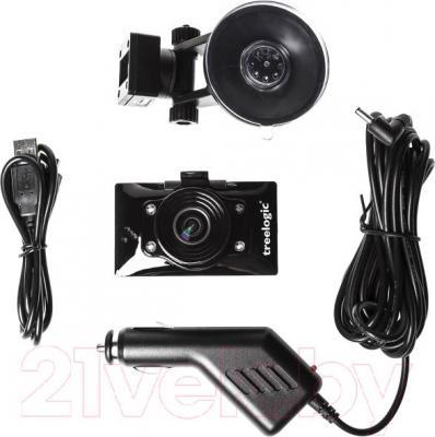 Автомобильный видеорегистратор Treelogic TL-DVR 2701 - комплектация