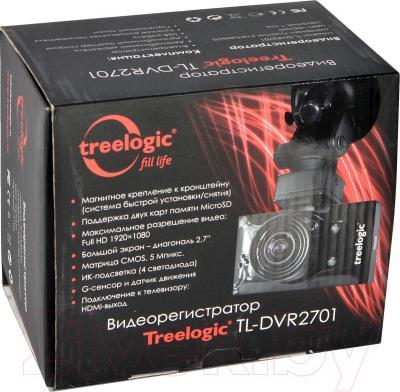 Автомобильный видеорегистратор Treelogic TL-DVR 2701 - упаковка