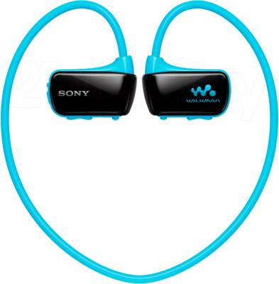 Наушники-плеер Sony NWZ-W273S (4Gb, синий) - общий вид