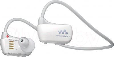 Наушники-плеер Sony NWZ-W273S (4Gb, белый) - общий вид