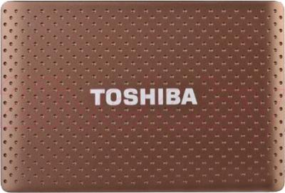 Внешний жесткий диск Toshiba Stor.E Partner 500GB Brown (PA4275E-1HE0) - общий вид