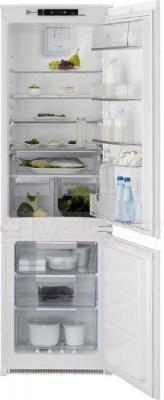 Холодильник с морозильником Electrolux ENN2853COW - общий вид