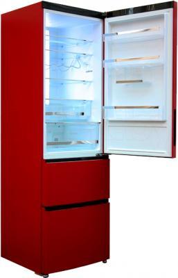 Холодильник с морозильником Haier A2FE635CRJ - внутренний вид