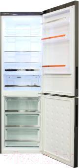 Холодильник с морозильником Haier C2FE636CBJRU - внутренний вид
