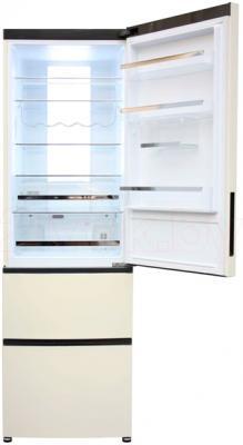Холодильник с морозильником Haier A2FE635CCJ - внутренний вид