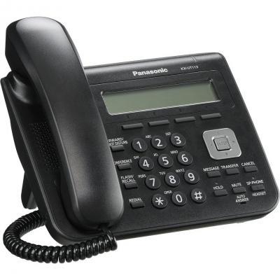 IP-телефония Panasonic KX-UT113RU-B - общий вид