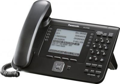IP-телефония Panasonic KX-UT248RU-B - общий вид