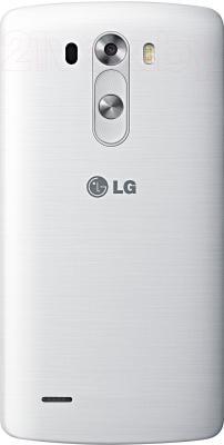 Смартфон LG G3 16GB / D855 (белый) - вид сзади