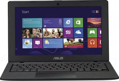 Ноутбук Asus X200MA-KX243H - фронтальный вид