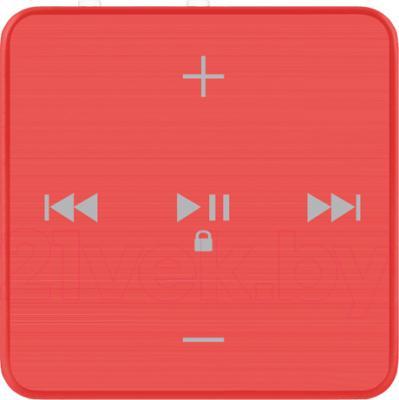 MP3-плеер TeXet T-22 (4GB, красный) - общий вид