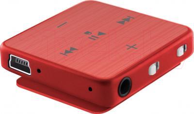 MP3-плеер TeXet T-22 (4GB, красный) - вид сбоку