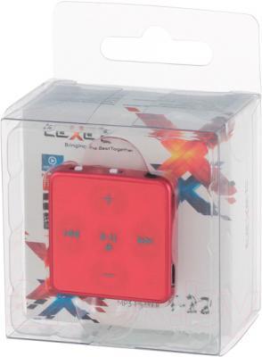 MP3-плеер TeXet T-22 (4GB, красный) - в упаковке