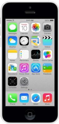 Смартфон Apple iPhone 5c (16GB, белый) - общий вид