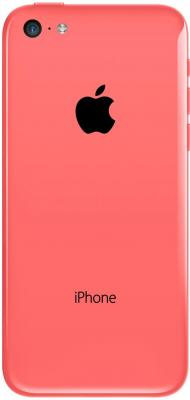 Смартфон Apple iPhone 5c (16gb, розовый) - вид сзади