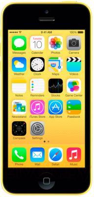 Смартфон Apple iPhone 5c (16gb, желтый) - общий вид