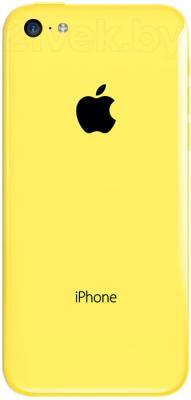 Смартфон Apple iPhone 5c (16gb, желтый) - задняя панель