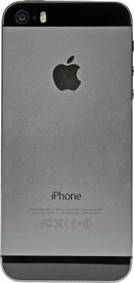 Смартфон Apple iPhone 5s (16GB, серый) - задняя панель