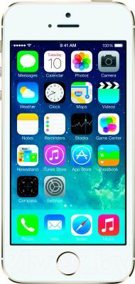 Смартфон Apple iPhone 5s (16GB, золотой) - общий вид