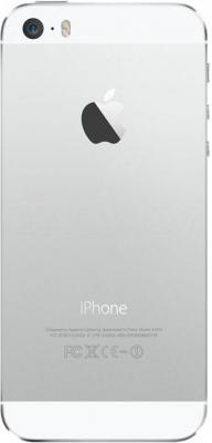 Смартфон Apple iPhone 5s (16Gb, серебристый) - вид сзади