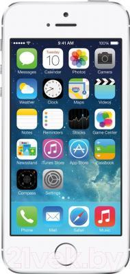 Смартфон Apple iPhone 5s (16Gb, серебристый)
