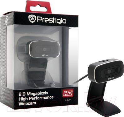 Веб-камера Prestigio PWC520H (Black) - в упаковке