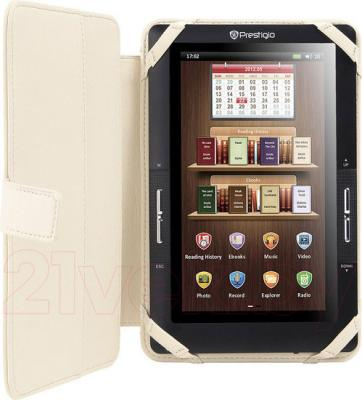 """Обложка для электронной книги Prestigio Universal Beige for 7"""" E-Reader (PECL0107BG) - с книгой внутри"""