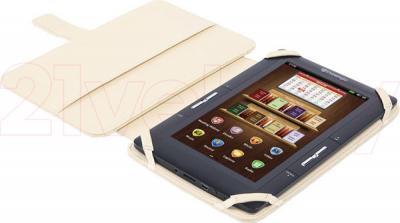 """Обложка для электронной книги Prestigio Universal Beige for 7"""" E-Reader (PECL0107BG) - в раскрытом виде"""