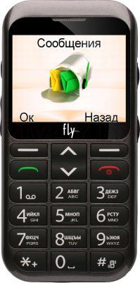 Мобильный телефон Fly Ezzy 4 (серый) - общий вид