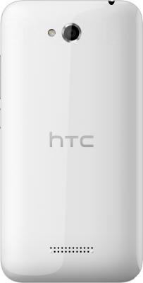 Смартфон HTC Desire 616 Dual (белый) - вид сзади