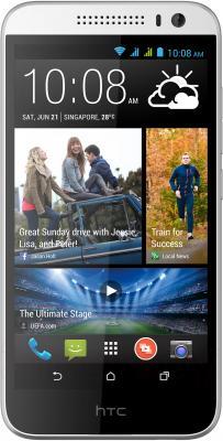 Смартфон HTC Desire 616 Dual (белый) - общий вид