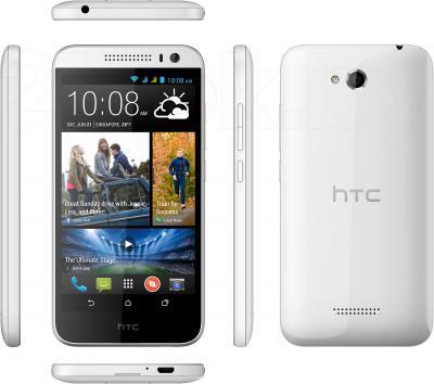 Смартфон HTC Desire 616 Dual (белый) - полный обзор панелей