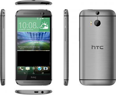 Смартфон HTC One Dual / M8 (серый металлик) - полный обзор панелей