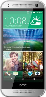 Смартфон HTC One Mini 2 (серебристый) - общий вид