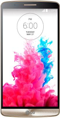 Смартфон LG G3 16GB / D855 (золотой) - общий вид