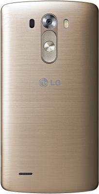 Смартфон LG G3 16GB / D855 (золотой) - вид сзади