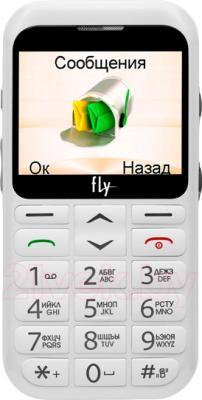 Мобильный телефон Fly Ezzy 4 (белый) - общий вид